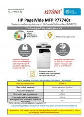 HP PageWide MFP P77740z
